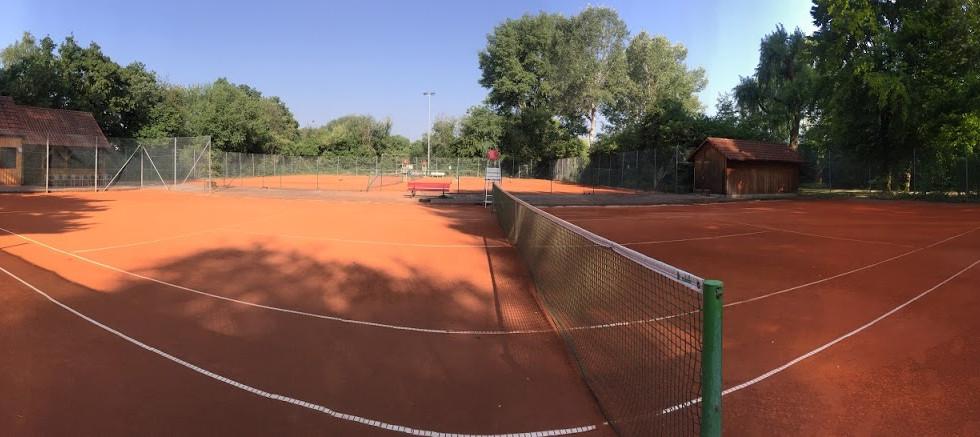 Die Tennisanlage 2020