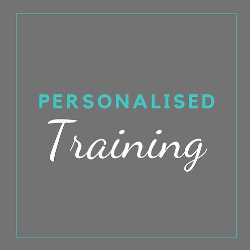 Personalised Training Program