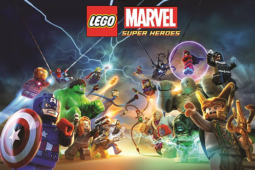 LEGO Marvel Super Heroes (USED) XBOX ONE