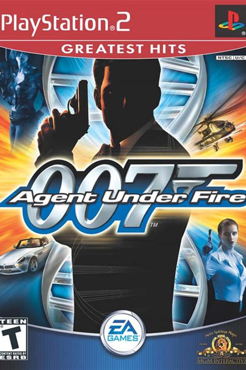 007 Agent Under Fire - PlayStation 2 (Greatest Hits Edition)