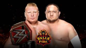 Samoa Joe and Lesnar Feud Is Great Booking
