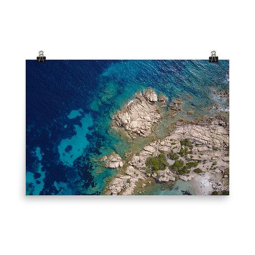 Poster Corsica Sea #01