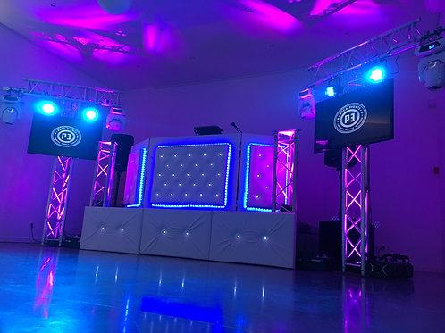 Scène DJ surélevée
