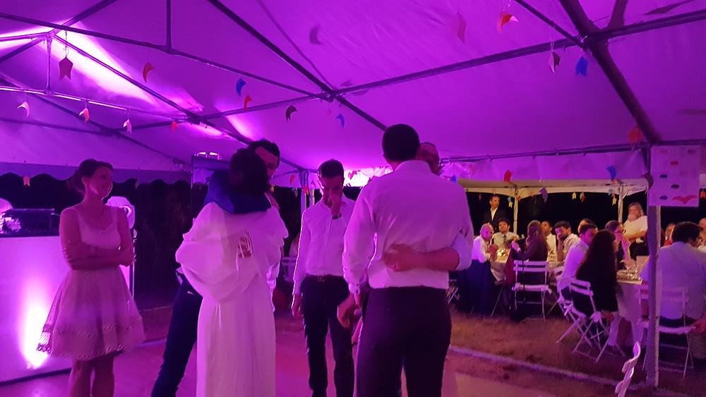 émotion réception mariage animation dj vaucluse carpentras