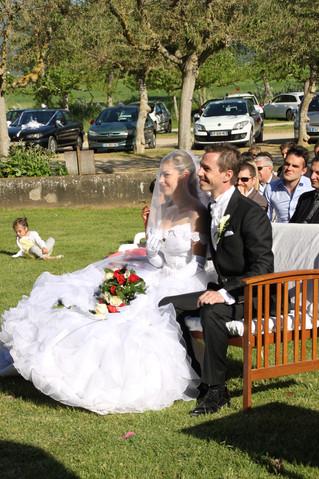 Mariage sur Trets