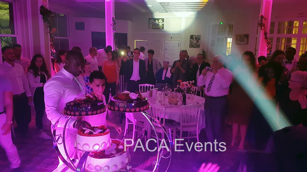 Pièce montée mariage réception soirée animation dj paca events