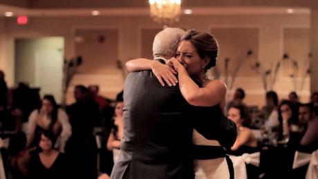 danse père mariée soirée mariage