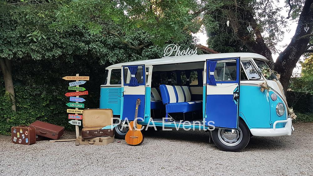 location vehicule vintage mariage combi vw marseille region paca
