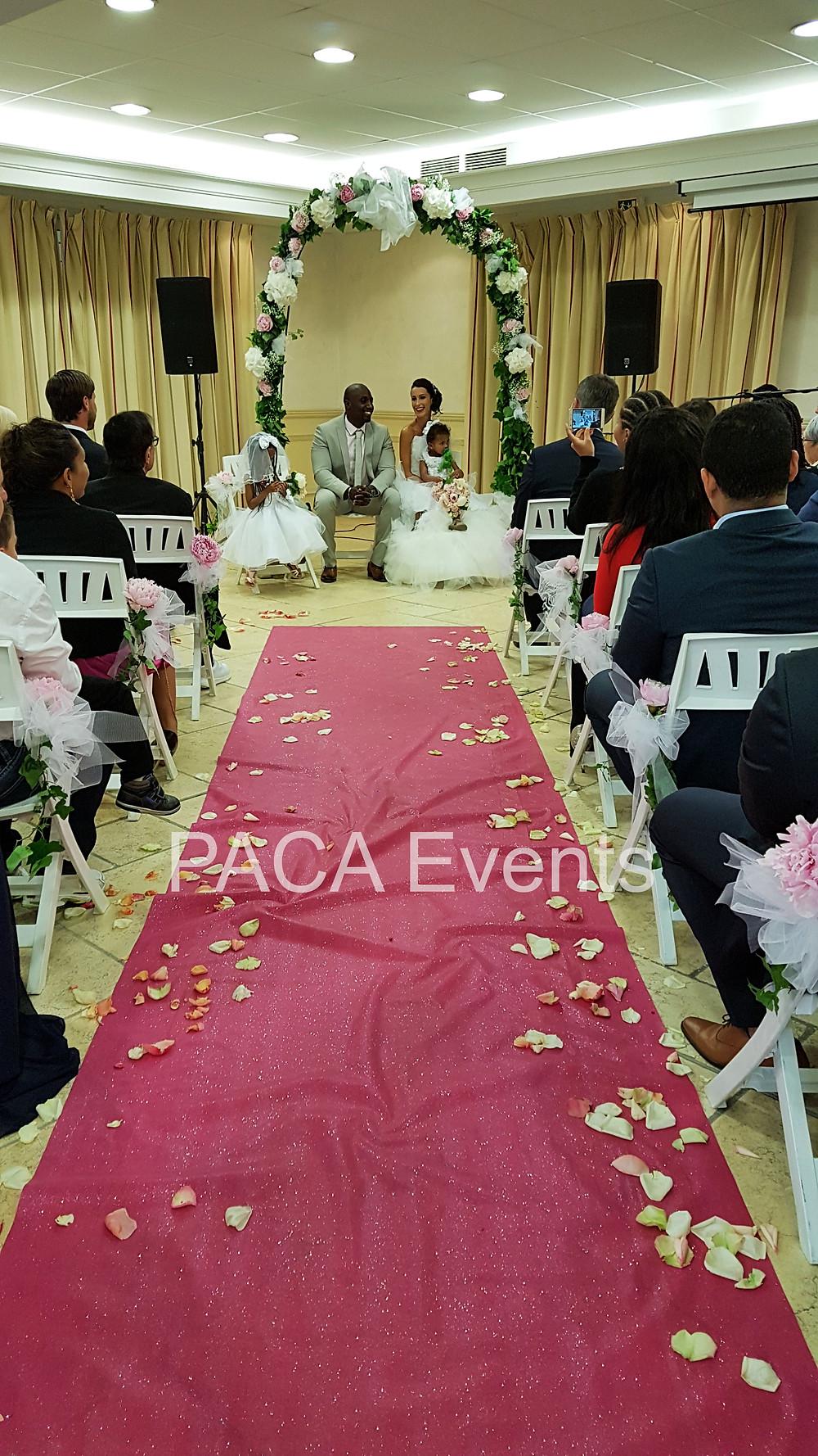 Sonorisation cérémonie laïque mariage by PACA Events Grand Hotel des Lesques