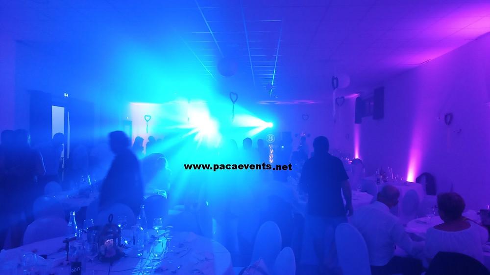 Animation soirée DJ mariage salle de l'Espillier à Istres