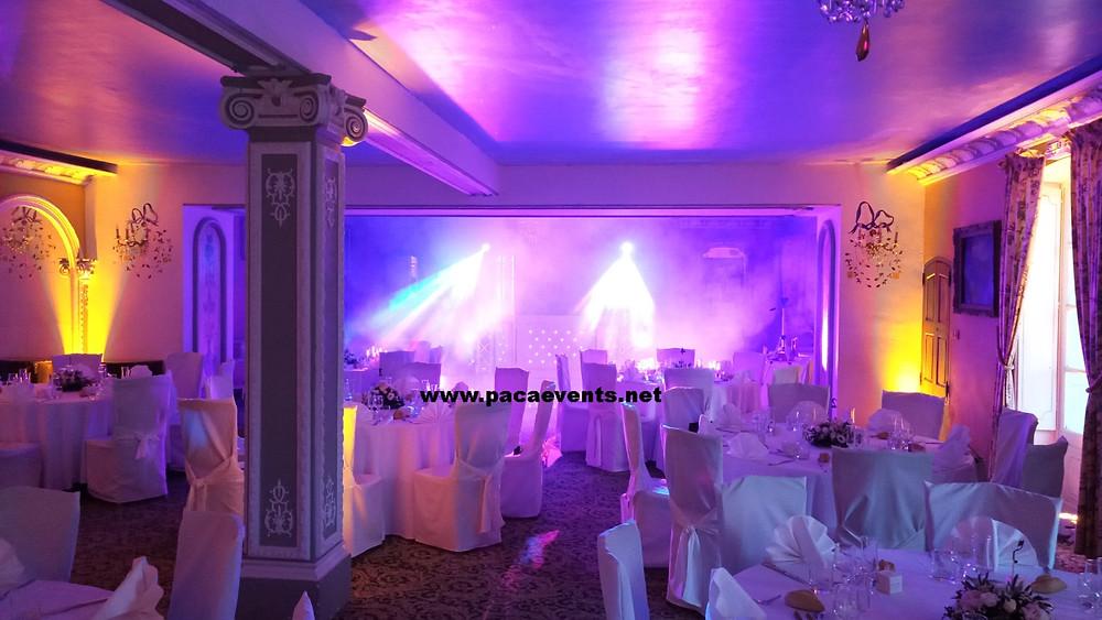 Animation DJ soirée mariage chateau de sauvan a Mane