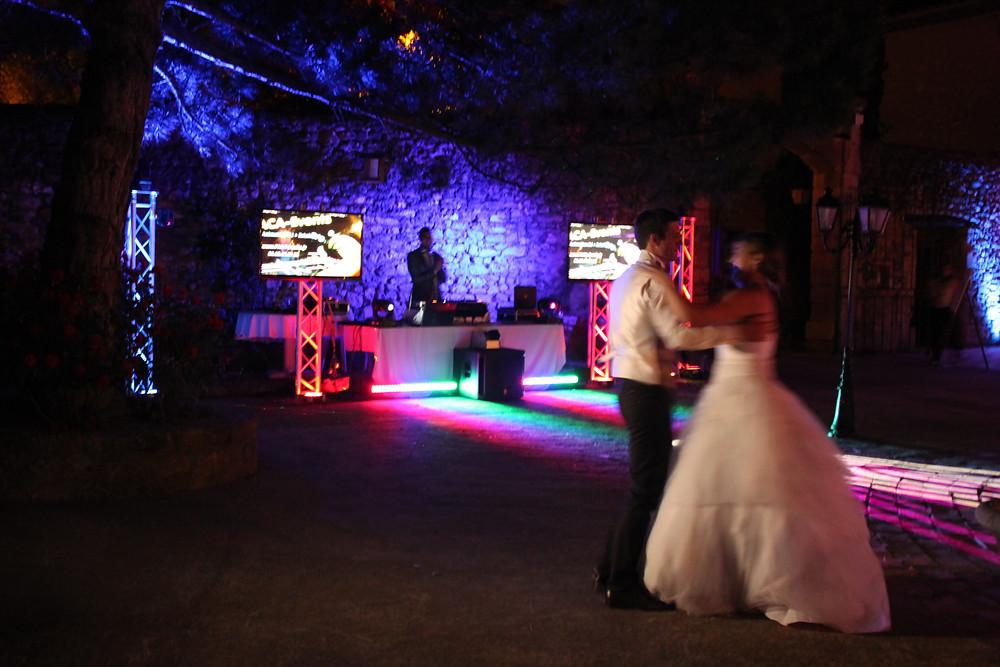 animation dj soirée réception mariage domaine de la Reynaude Aurons 13121