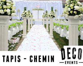 TAPIS - CHEMIN (allée centrale)