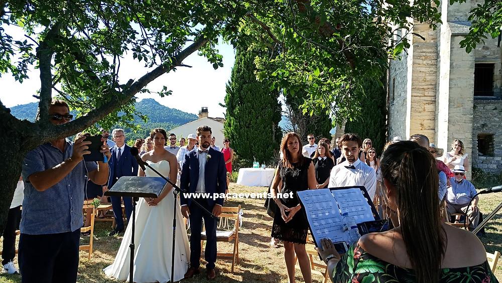 Animation DJ soirée réception mariage château du barroux