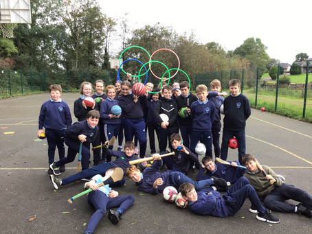 All pupils participated in activities for our Active School Day on 26/09/2019.