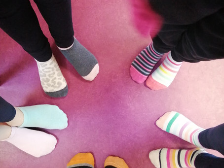 Fundraiser for the Down Syndrome Association - Odd Socks Day