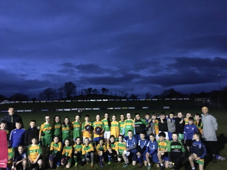 Boys and Girls Gaelic Parish League 2019