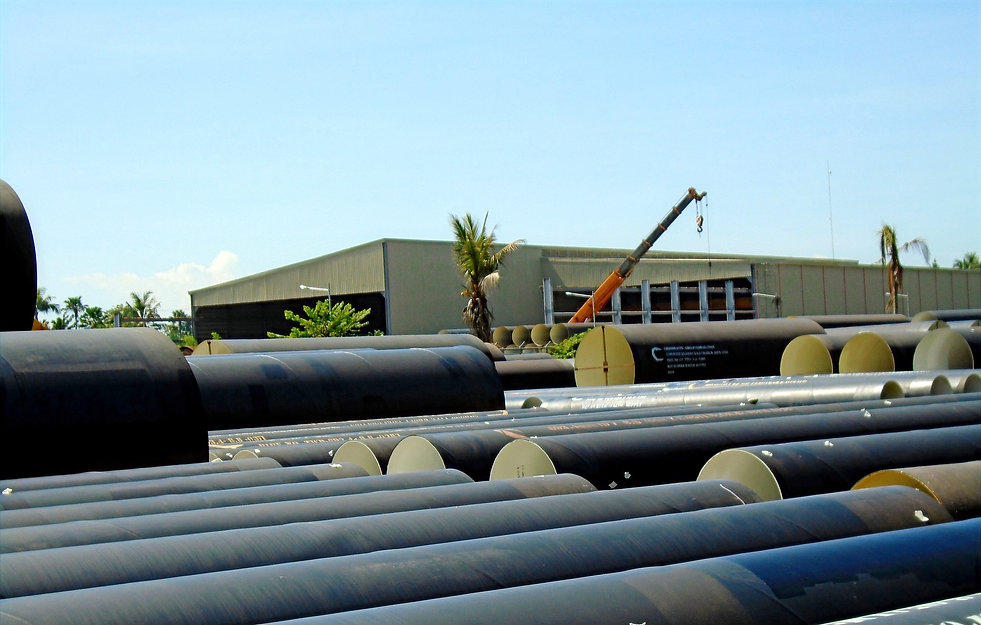 Spiral Welded Steel pipe in Davao
