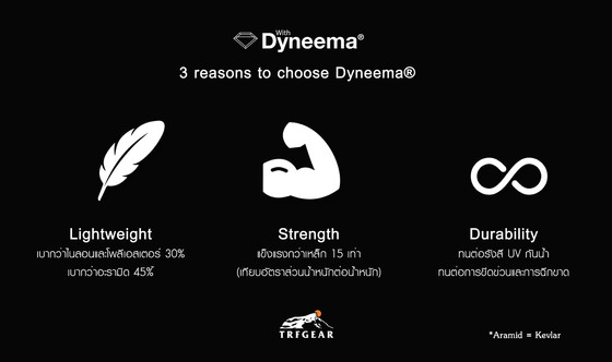 3 reasons to choose Dyneema®