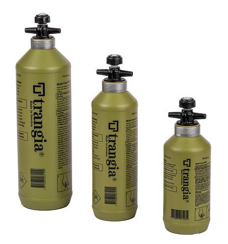 Trangia Fuel Bottle with Safety Valve – 1L, 0.5L & 0.3L