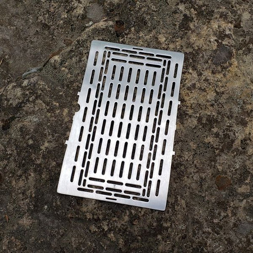 """5"""" Extended Grill Plate (Stainless)"""