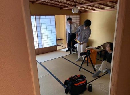 銀座室礼撮影(ピカソと小林古径)