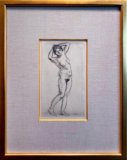 アルベール・マルケ「裸婦」フランスの北斎