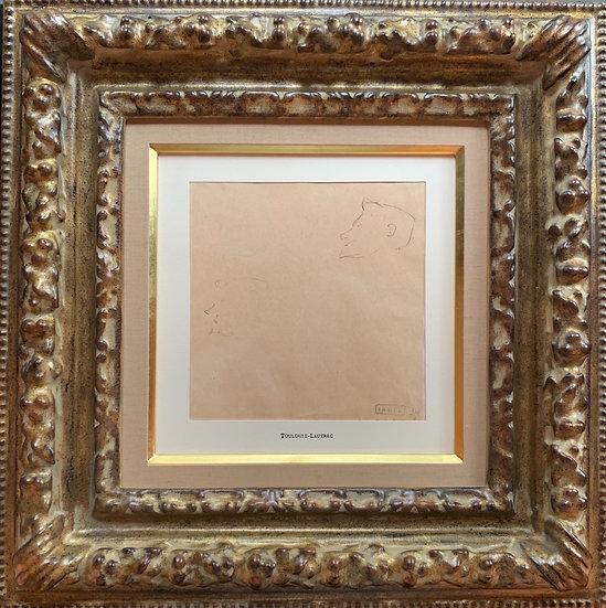 <売約済>Toulouse Lautrec  「デッサン」
