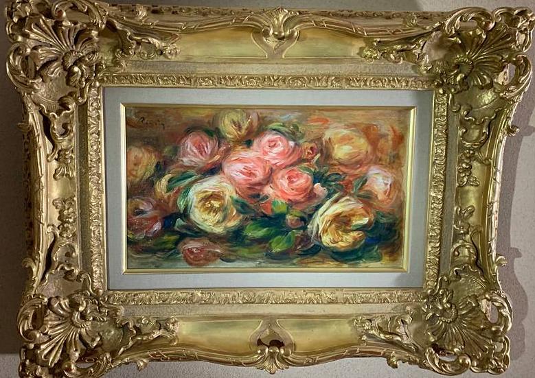 ピエール=オーギュスト・ルノワール「Bouquet of Roses」