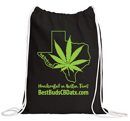 Best Buds CBD Cotton Drawstring Sack