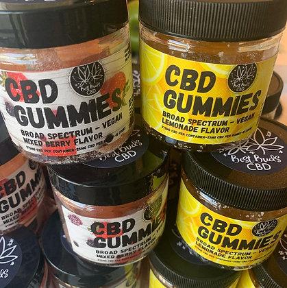 CBD Gummies - 15 pieces - 375mg CBD