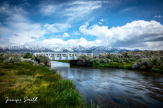 Owens River White Bridge