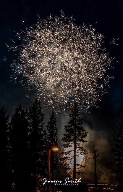 Mammoth Lakes Fireworks