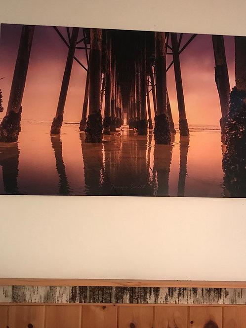 """Oceanside Pier"" 39 x 26"