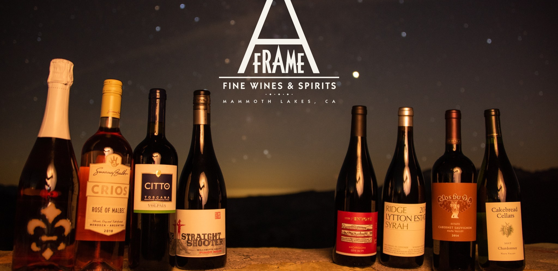 Wines with Milky Way