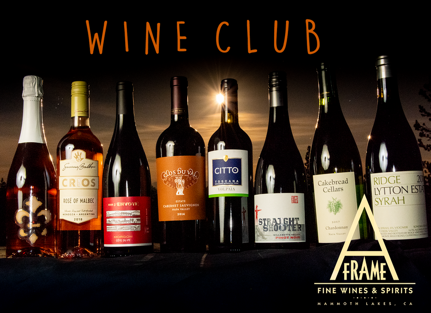 Wine Club with Full Moon