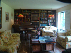 Library in the Napa Valley Inn