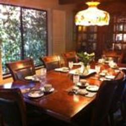Napa Valley Inn formal dining room