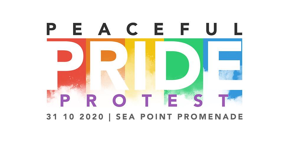 Peaceful PRIDE Protest