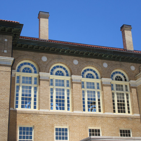 Completed South Elevation