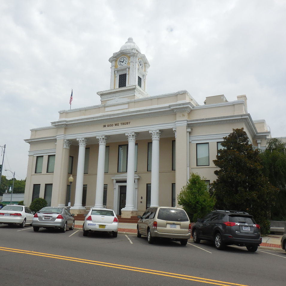 Courthouse building before