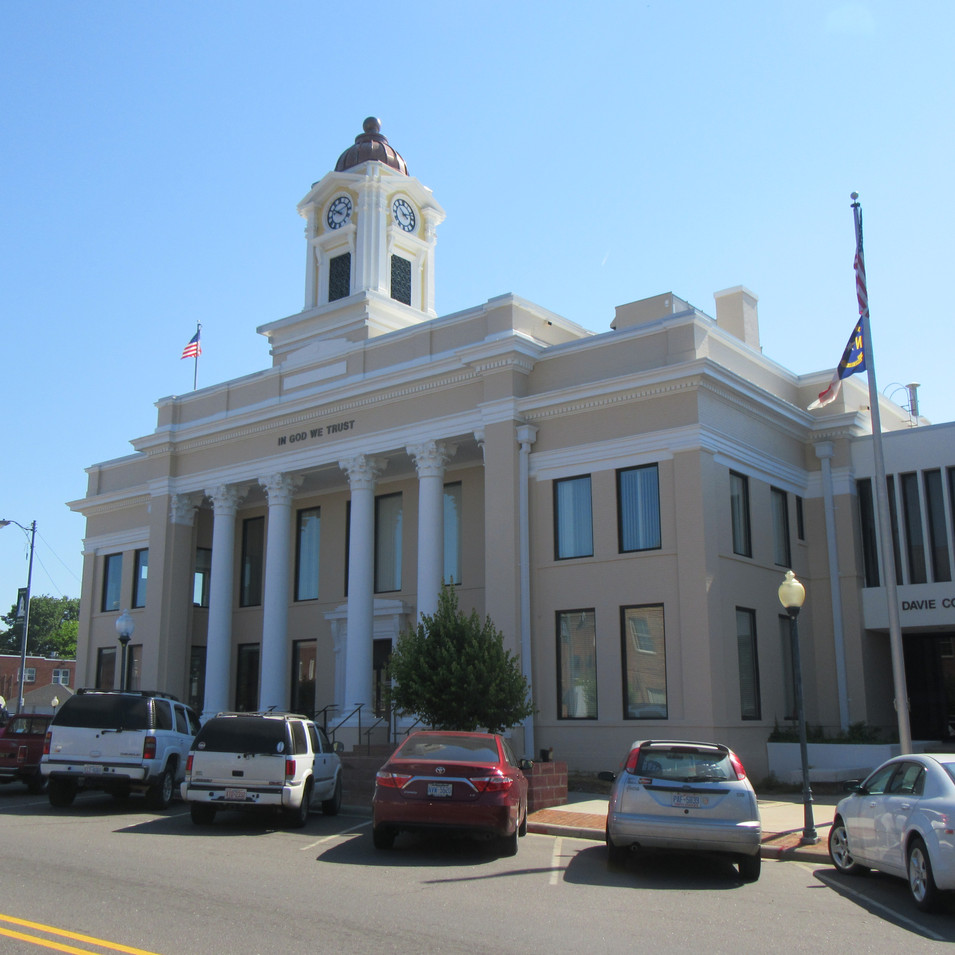 Courthouse building after