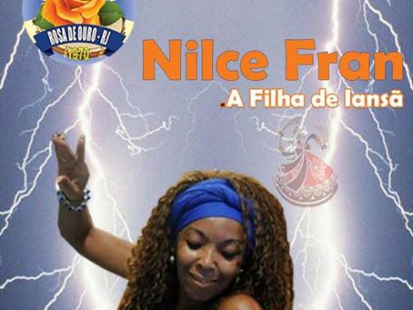 Rosa de Ouro contará a história de Nilce Fran no carnaval de 2020