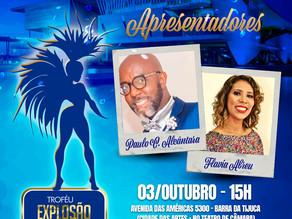 Troféu Explosão In Samba 2020 será na Cidade das Artes