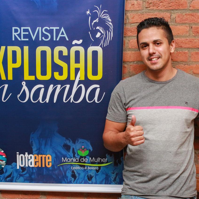 Ex jogador de futebol Rafael Dordron