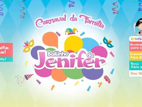 """Grupo de Campo Grande organiza baile de carnaval com nome de """"Bailinho da Jenifer"""", onde"""