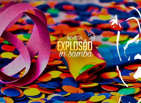 A Revista Explosão In Samba vem fazendo flashes ao vivo dos desfiles da Intendente Magalhães e da Sa