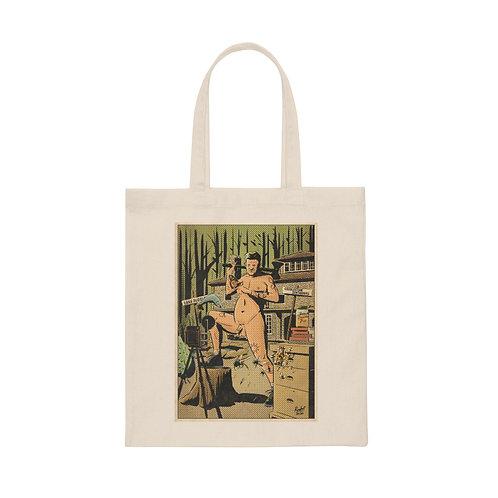 Rudy the Nudie - Canvas Tote Bag