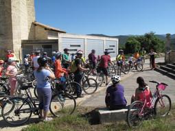 Ruta en bicicleta para familias por Añana
