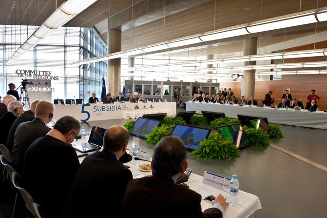 V Conferencia sobre la Subsiedariedad del Committeé of the Regions